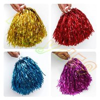 50g Modish Cheer Dance Sport Supplies Concorrenza Cheerleading Pom Poms Flower Ball Illuminando Party Applausi Fantasia Pom Poms