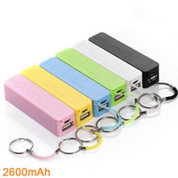 Wholesale Mini Power Usb Chargers - Mobile charger power bank Mini USB Portable Charger backup battery charger iPhone HTC samsung univeresal smartphone