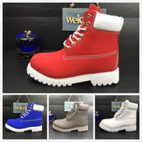 Wholesale Womens Waterproof Winter Boots - Many Colors Waterproof TBL Martin Ankle Boots For Men High Quality 10061 Genuine Leather 2017 Latest Brand Designer Womens Winter Snow Boots