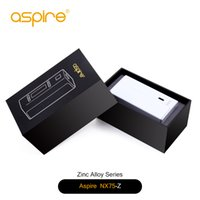 Wholesale Metal Door Magnetic - zinc alloy, stainless steel , aluminum , red ,black, silver and white color 75W TC box mod magnetic battery door aspire NX75