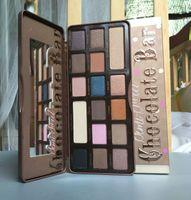 Wholesale Makeup Sombra - 2016 New Brand Makeup Chocolate Bar Eye Shadow Collection Makeup 16 Colors Palette sombra maquiagem paleta de sombras 13.3g