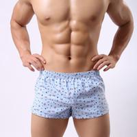 Wholesale men boxer pants - Brand men boxer underwear high quality men underpants cotton boxers briefs men's boxer shorts home pants free shipping
