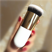 ingrosso bb up-Pennello da trucco rotondo BB Cream Concealer Foundation Powder Brushes Synthetic Fifber Face Pennello cosmetico Fush Make Up Beauty Tool