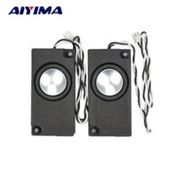 Atacado- AIYIMA 2Pcs Mini Áudio Portable Áudio Alto-falantes de 1 polegada All Frequency Horn para TV portátil