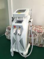 Wholesale Tatoo Sale - 2016 HOT SALE!!! 3 in 1 OPT SHR Hair Removal RF Skin Rejuvenation YAG Laser Tatoo Removal Machine  Sytem