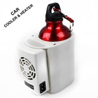 Wholesale 12v Cup Heater - DBLONE Car Cooler and Heater Double-purpose 355ml Volume 12v Cigarette Lighter 36W Freezer Warmer Cup as Gift