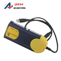 Wholesale Rate Code - New Top-Rated J2534 Free Shipping Multi-Diag J2534 Access J2534 Pass-Thru OBD2 Device Multi Diag Multi-Diag V2014 J253DHL Free Shipping