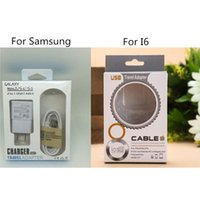 Wholesale Cell Phone Charger Boxes - Cell phone retail boxes charger +cable 2 in 1 charger retail package empty package for iphone for samsung box