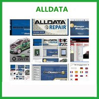 Wholesale Win Honda - 2017 New Arrival Auto Repair Software All Data Car Software 10.53 Alldata and mitchell software for xp win7 win 8 Free Shipping