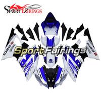 yamaha r6 kaplama 11 toptan satış-Yamaha YZF600 için R6 R6 08 09 10 11 12 13 14 2008 - 2014 Sportbike ABS Motosiklet Kaporta Seti Kaporta MOTOGP 50 Yıldönümü