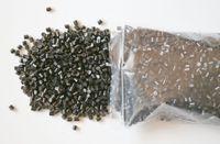 keratinklebergranulat großhandel-ITALIEN KLEBER PERLEN + 100g Keratin Kleber Granulat Perlen Körner Haarverlängerungen Schwarze Farbe Haar Leim Perlen