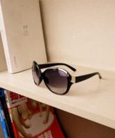 Wholesale Sunglasses Retro Leopard - 3 color Hot New Brand Designer Trendy Metal retro black Frame Leopard Sunglasses Women Fashion lare sun glasses G089