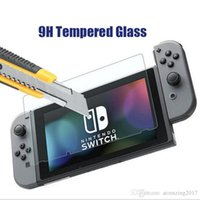 Switch Tempered Glass 9H 2.5D Anti-Knock Scratch Proof Screen Protector Film для Nintendo Switch NS 2107 Смартфон
