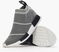 Femmes De Golf Vintage Pas Cher-NMD Ville Sock Men And Women S79150 Shoe, NMD CS1 Ville Sock PK (Noyau Noir / Vintage White / FTWR Blanc), Casual Sport Shoe Souliers Chaussures