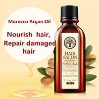 Wholesale Hair Care Oils - Wholesale-Multi-functional Hair Care Moroccan Pure Argan Oil Hair Essential Oil For Dry Hair Types Hair 60ml