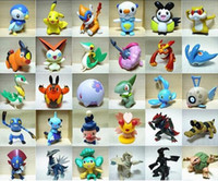 Wholesale Pokemon Figure Collection - 24pcs lot Brand New Poke Toys Poke Black  White X Y  Soul Silver Poke Action Figures Collections Kid's GIFT