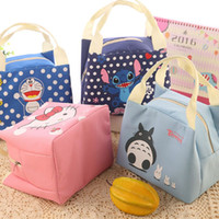 Wholesale New Arrival Korean Fashion Cute Adorable Cold Insulation Bag Picnic With Zipper Women s Cartoon Lunch Box