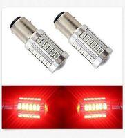 Wholesale 12v 1142 - 10PCS BAY15D 1157 1142 Car Tail Stop Brake Light 5730 33 SMD LED Bulb 12V DC wholesale price