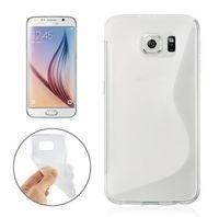 Wholesale S Line Wave Gel Case - For Samsung Galaxy S7 EDGE Plus J3 J5 J7 J1 A3 A5 A7 2016 S line Grip Wave Soft TPU Gel Rubber skin Phone back cover case cases 1pcs 5pcs