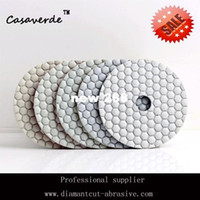 Wholesale Diamond Polishers - Free shipping 4 inch (100mm) granite diamond dry polishing pads for marble and stone polisher pad diamond concrete
