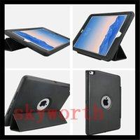 Wholesale Combo Tab - Shockproof Combo defender Stand Case For iPad 2 3 4 5 6 ipad air mini 4 Pro 12.9 Samsung Galaxy tab E