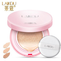 Wholesale LAIKOU Air Cushion BB Cream Concealer Moisturizing Foundation Makeup Bare Strong Whitening Face Beauty Makeup g