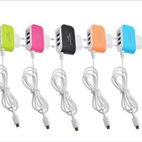 Wholesale android tablets sale for sale - Group buy Hot Sale A Port USB EU Plug Home Travel Wall Charger AC Power Adapter With Cable for Android Phone Tablet