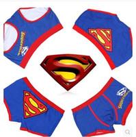 Wholesale Sexy Couple Underwear - Two Colors New Sexy Cotton Superman Couples underwear Men's briefs Women's Briefs 2 Couple(4 pcs) lot