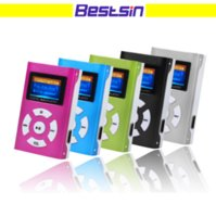 Wholesale USB Mini Music LCD Screen Support GB Micro Memory Digital MP3 With Earphone USB Cable with Retail Box