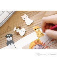 1pc Cute Kitty Casa Divertente Sticker Messaggio Bookmark Mark Tab Memo Sticky Notes E00407