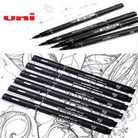 bildende kunstbürsten großhandel-Kunst liefert Pinsel für Malerei Marker für das Zeichnen von Schreibwaren Fine Point Haarnadel Manga de dessin au stotos