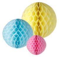 "Wholesale Christmas Tissue Paper - Home & Garden Event & Party Supplies 12"" (30cm) paper honeycomb balls Tissue Paper Decorations 100pcs Party Decoration Christmas"