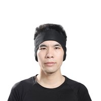 Headband Outdoor Sports Windproof Thermal Fleece Running Ciclismo Proteção de ouvido Earmuffs Sport Keep Warm Ski Cap Black atacado QLL14