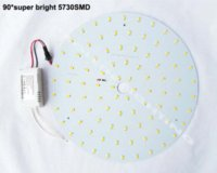 Wholesale Down Lights Kit - 2 year warranty DIY kits 30W round LED down light surface mounts disk led techo PCB led plate circular tube=80w 2D tube