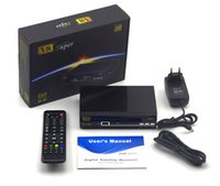 2016 Receptor de TV por satélite de V8 Super 1080P Full HD DVB-S2 TV Box 2 Soporte de puerto USB WEB TV, IPTV, Youtube, Youporn, Redtube