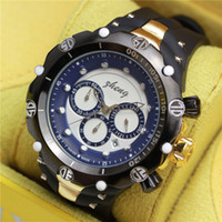 Wholesale Vista Red - Good quality Big men styles fashion brand IN Vista watches with silicone and metal band have much different colors to choose