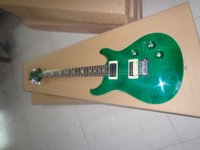 Wholesale Emerald Strings - best china guitar Newest REED Custom 24 Electric Guitar Emerald Green OEM Musical Instruments