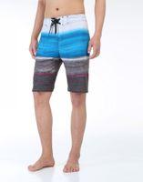 Wholesale Shorts Stretchy - Hot Men's Stretchy Board Shorts Surf Trunks Swimwear with Hot colors pri Mix Colors Mix Size 4-way Spandex Boardshorts Beachwear 50Pcs Bulk