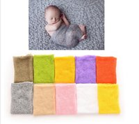 Wholesale Baby Photo Props Mohair - Newborn Photography Wraps without Flower Headband New Arrival Mohair baby photography props Baby Photo props Accessories