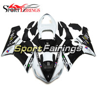 Elf Black White Новые инжекционные обтекатели для Kawasaki Ninja 636 ZX-6R ZX6R 05 06 2005 - 2006 Sportbike ABS Motorcycle Fairing Kit Body