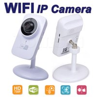 Wholesale Fashion Cameras - V380 Mini Wifi IP Camera Wireless 720P HD Smart Camera Fashion Baby Monitor free shipping with retail package
