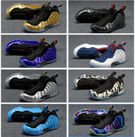 Wholesale Olympics Opening - One Hardaway Barkley Posite men Basketball Shoes Royal Olympic Authentic Sneakers jumpman shoes Retro Sports Boots Pro Galaxry us 8-13