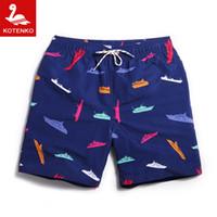 Wholesale Men Swim Boxer Shorts - Wholesale-Men Swim Surf Board Beach Shorts Trunks Swimwear Swimsuits Mens Brand Swimming Boxers Run Casual Outdoor Jogger Shorts Quick Dry