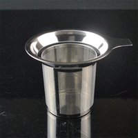 Wholesale Tea Strainer Sieve - Tea Strainer Sieve Stainless Steel Tea Infuser Wholesale Coffee Filter Baskets Tea Leaf Spice Mesh Stainless NEW Arrival 2017