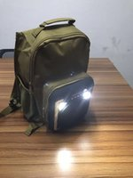 Wholesale Wholesale Ch Bag - CH-M33 School bags Bluetooth speakers to school travel bag camouflage LED lights lighting Bluetooth speakers bag wholesale