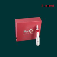 Wholesale Dermapen Micro Needling - Electric Derma Pen Stamp Auto Micro Needle Roller Anti Aging Skin Therapy Wand MYM derma pen dermapen with CE certificates