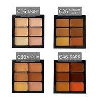 Wholesale Conceal Light - HOT Makeup Face Conceal and Correct Palette LIGHT MEDIUM  MEDIUM DEEP DARK 4 Colors DHL Free shipping