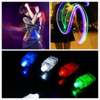 Wholesale Led Promotional Items - 100pcs lot Cheaper Flashing Fingers Beams Party Led fingers toys Novelty items for kids Promotional gifts for event Led lighted toys