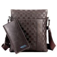 Wholesale Shoulder Handbag Casual Male Bags - 2017 Brand Men Messenger Bag Male Leather Casual Crossbody Bag Business Men's Handbag Bags for gift Shoulder Bags Men