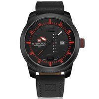 Wholesale Mens Top Brand Luxury - NAVIFORCE Watches Men Quartz Mens Sport Watch Top Brand Luxury Date Week Clock Men Military Wristwatches Men Sport Watch montres